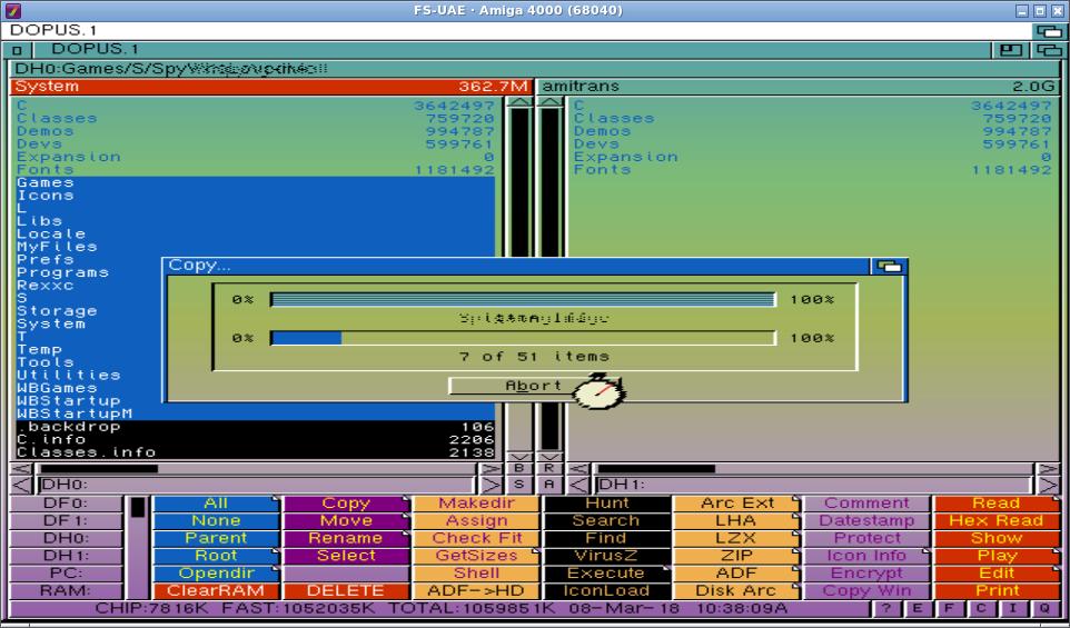 Install Amiga OS 3 1 for your real Amiga (1200) using FS-UAE